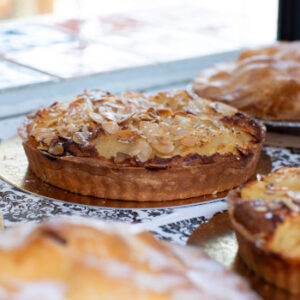 The Food Shop - almond pie
