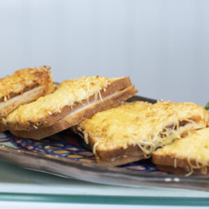 The Food Shop - ham and cheese toasties